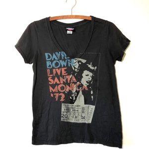 Vintage David Bowie Concert T-shirt